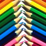 """Angled Colored Pencils"" by rhamm"