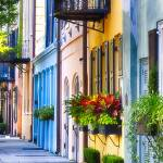 """Rainbow Row I"" by George_Oze"