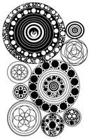 Zentangle Circles Design