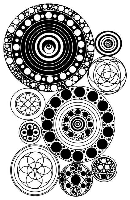 Circle Design Art : Stunning quot zentangle artwork for sale on fine art prints