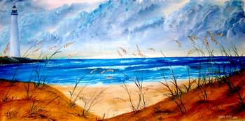 oil seascape painting