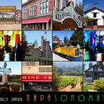 """Napa Sonoma County Wine Country 20140906 with text"" by wingsdomain"