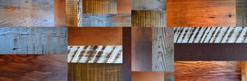 Reclaimed Wood Collage 5.0