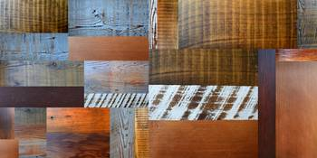 Reclaimed Wood Collage 4.0