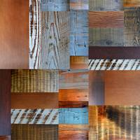 Reclaimed Wood Collage 1.0