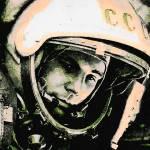 """""""Cosmonaut Yuri Gagarin"""" by thegriffinpassant"""