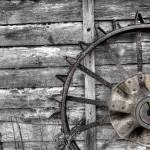 """Tractor Wheel"" by Hansen"