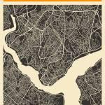 """Istanbul Map"" by JazzberryBlue"