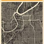 """Kansas Map"" by JazzberryBlue"