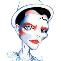Pierrot Art Prints & Posters by SANDRA VARGAS