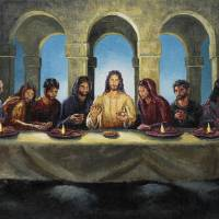 The Last Supper Art Prints & Posters by Joey Agbayani
