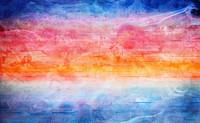 Digital Sunrise Seascape Abstract Painting 1b