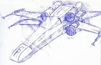STar Wars 4 -X-Wing
