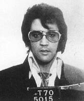 Elvis Presley Mug Shot Vertical