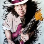"""Stevie Ray Vaughan"" by MelanieD"