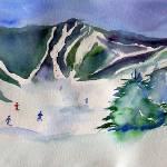 """Killington Mountain in Vermont"" by MaurieHarrington"