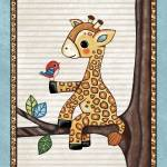 """Giraffe in a Tree. Treetop Jungle Buddies Collecti"" by Littlepig"