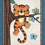 """Tiger in a Tree. Treetop Jungle Buddies Collection"" by Littlepig"