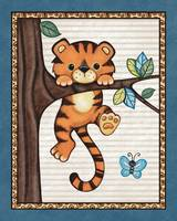 Tiger in a Tree. Treetop Jungle Buddies Collection