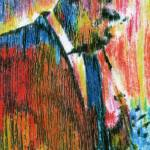 """JOHN COLTRANE Portrait Contemporary Art JAZZ"" by deactor"