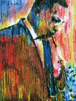 JOHN COLTRANE Portrait Contemporary Art JAZZ