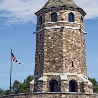 War Memorial Tower Vernon Connecticut Art Prints & Posters by Phil Cardamone