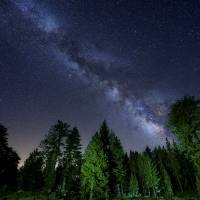 Mt. Pinos Milky Way Art Prints & Posters by Ken Lee