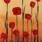 """Red Poppies Decor"" by IrinaSztukowski"