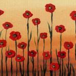 """Landscape With Red Poppies Painting"" by IrinaSztukowski"
