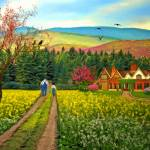 """""""Spring Time in the Mountains"""" by Ninas4otos"""