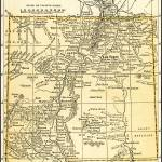 """New Mexico Territory Antique Map 1891"" by WilshireImages"