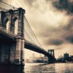 """Brooklyn Bridge Vintage"" by JessicaJenney"