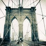 """Brooklyn Bridge Crossing"" by JessicaJenney"