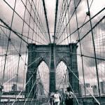 """Crossing Brooklyn Bridge"" by JessicaJenney"