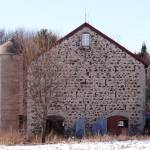 """Stone barn, Wisconsin"" by Anewsgal"