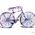 """""""Bicycle"""" by k9artgallery"""