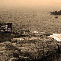 Shoreline and Shipwreck - Portland, Maine Art Prints & Posters by Frank Romeo