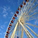 """""""Fremantle Ferris Wheel"""" by ConroyArtworks"""