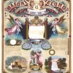 """Master Mason Record.20x16"" by Ekphrasis"