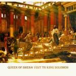 """Queen_of_Sheba_visit_to_King_Solomon.16x20"" by Ekphrasis"