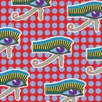 """Udjat Pattern"" by PacoDozierGraphics"