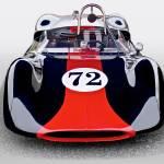 """""""1963 Genie Mk 5 #72 Vintage Racecar I"""" by FatKatPhotography"""