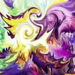 """""""Abstract Purple Flower by Irina Sztukowski"""" by IrinaSztukowski"""