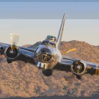 """Flying Fortress"" by Jay Beckman"