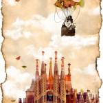 """flight over my castle"" by amira"