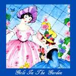 """Girls In The Garden"" by mariancates"