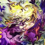 """""""Magic Bird On Purple Flower Abstract"""" by IrinaSztukowski"""