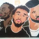 """""""Hip Hop Holy Trinity"""" by jaygrahm"""