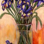 """irises (2)"" by AnnJonesArtist"