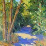 """9X12 The Path Ann Jones"" by AnnJonesArtist"